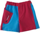 Patagonia Meridian Board Shorts (Toddler) - Magenta/Blue-2T