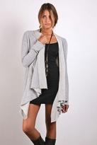Nightcap Clothing Lounge Cardigan in Heather Grey