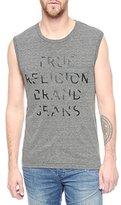True Religion Men's Stripes Tank