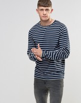 Bellfield Breton Stripe Long Sleeve T-Shirt
