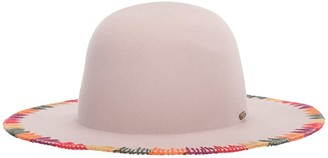 San Diego Hat Company WFH8212 Wool Felt Floppy with Stitched Brim (Oatmeal) Caps