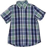 E-Land Kids Plaid Shirt (Toddler/Kids) - Green Grapes-8