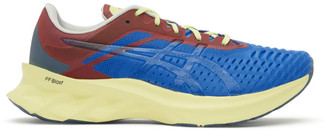 AFFIX Blue and Red Asics Edition Novablast Sneakers