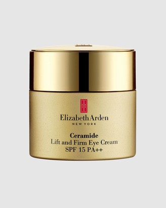 Elizabeth Arden Women's White Facial Sunscreen - Ceramide Lift and Firm Eye Cream Sunscreen SPF15 15ml - Size One Size, 15ml at The Iconic