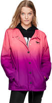 PINK Snap Front Coaches Jacket