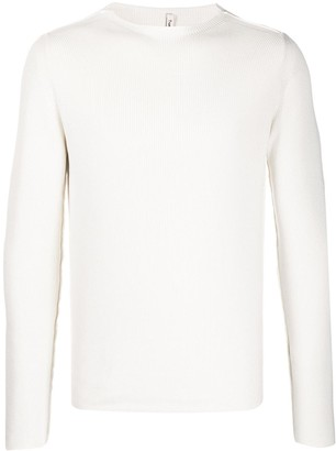 Transit Long-Sleeve Fitted Jumper