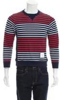 Thom Browne Striped Pullover Sweatshirt