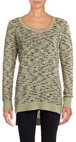 G.H. Bass & Co. Speckled Crew Neck Sweater