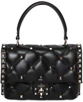 Valentino Candy Leather Top Handle Bag