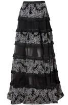 Alexis Carosini Embroidered Skirt