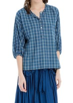 Max Studio Plaid Tunic