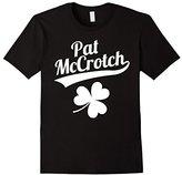 Funny Pat McCrotch St. Patricks Shamrock Tee Shirt