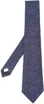Lardini dot print tie - men - Silk - One Size