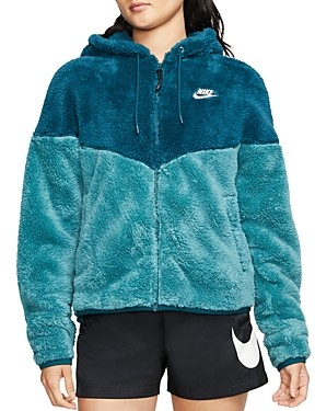 Nike Color-Block Fleece Jacket