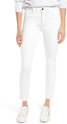 JEN7 by 7 For All Mankind High Waist Ankle Skinny Jeans