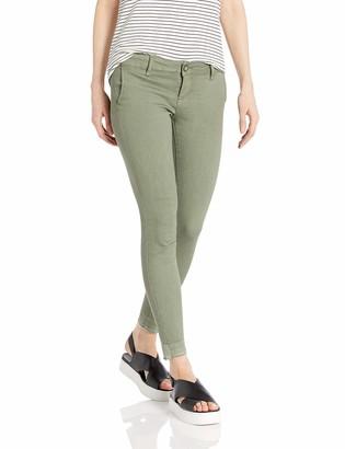 Cover Girl Women's Size Skinny Jeans Trouser Pant Style Side Slant Pockets