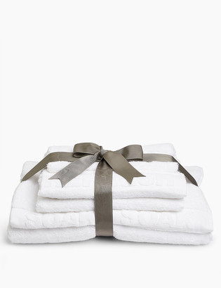 Marks and Spencer Embossed Cleanse, Refresh & Soak Towel Gift Pack