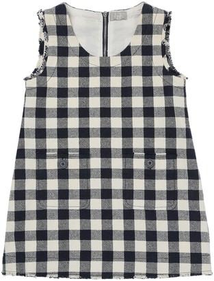 Il Gufo Sleeveless Cotton Dress