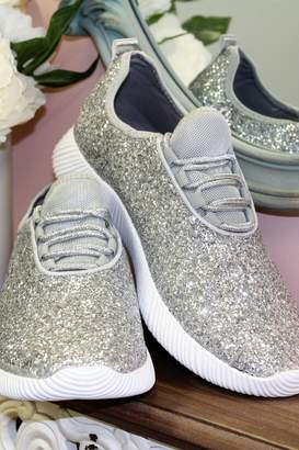 Qupid Glitter Sneakers