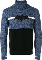 Iceberg bat appliqué sweater