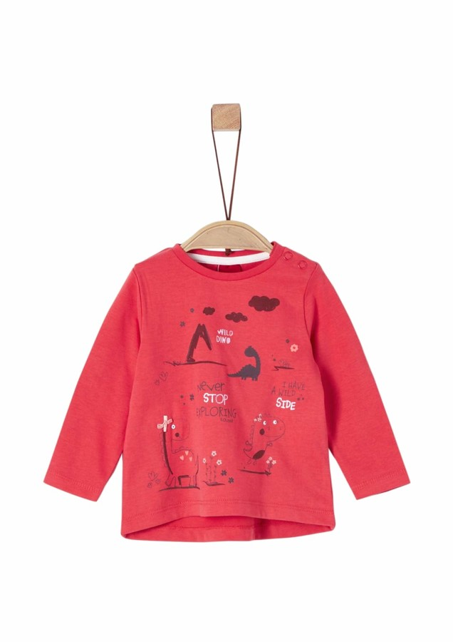 S'Oliver Baby Girls' 65.908.31.8814 Long Sleeve Top