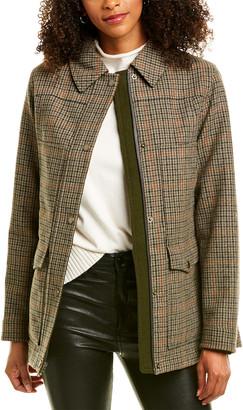 Pendleton Missoula Short Wool-Blend Coat