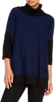 Yumi Oversize Color Block Sweater