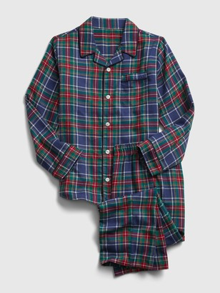 Gap Kids Plaid PJ Set