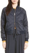 Vince Women's Quilted Bomber Jacket