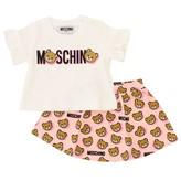 Moschino T-shirt + Skirt Set
