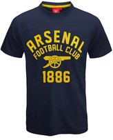 Arsenal F.C. Arsenal Football Club Official Soccer Gift Mens Graphic T-Shirt Med.