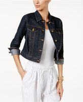MICHAEL Michael Kors Cropped Denim Jacket