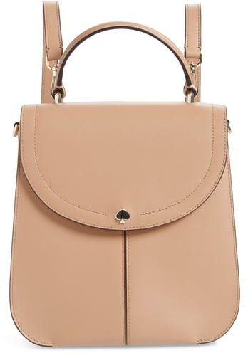 Kate Spade Medium Andi Leather Convertible Backpack