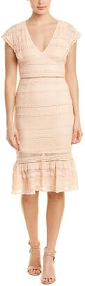 Foxiedox Lace Mini Dress