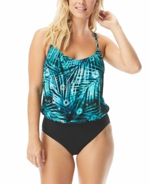CoCo Reef Contours Amaris Colorblocked Tummy Control One-Piece Swimsuit Women's Swimsuit