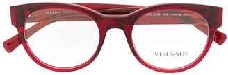 Versace Eyewear Medusa embellished glasses