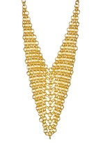 Argentovivo Chainmail Bib Necklace