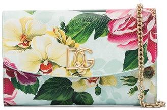 Dolce & Gabbana Floral Clutch Bag