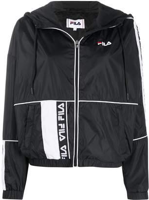 Fila panelled windbreaker performance jacket