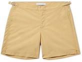 Orlebar Brown Bulldog Mid-length Swim Shorts - Pastel yellow