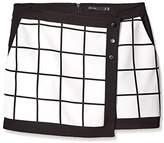 Karen Millen Women's Check Skirt