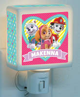 PAW Patrol Lovable Pups Personalized Night Light