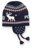 Ralph Lauren Reindeer Cotton-Wool Hat