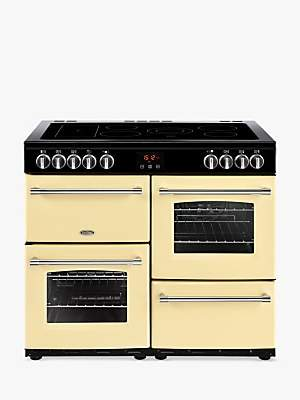 Belling Farmhouse 100E Electric Range Cooker with Ceramic Hob