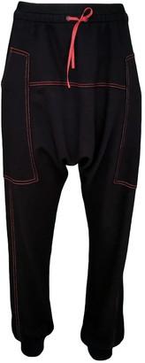 Lalipop Design Super Comfy Black Baggy Pants