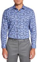 Nordstrom Trim Fit Paisley Dress Shirt