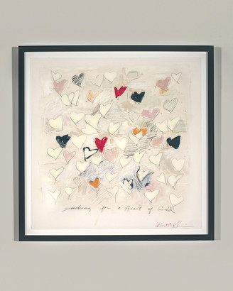 Robert Robinson Rfa Fine Art Searching For A Heart of Gold Giclee Wall Art