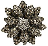 LeVian Le Vian 14K White Gold with 2.15ct Diamond Flower Ring Size 7