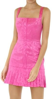 Alexis Aly's Flounce Mini Dress