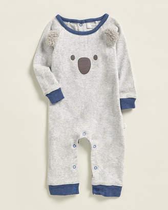Baby Essentials Albetta (Newborn Boys) Koala Face Applique Romper